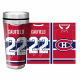 Cole Caufield Montreal Canadiens Jersey Travel Tumbler Mug 16oz