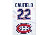 Cole Caufield Montreal Canadiens Decal Set w/ Facsimile Autograph