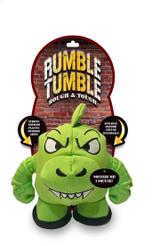Rumble Tumble Dinosaur Dog Toy Premium Canvas & Rubber