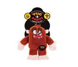 Tug-A-Parts Bigfoot Monster Dog Toy Premium Plush w/ Removable Limbs