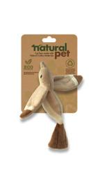 Natural Pet Bird Cat Toy Plush w/ Catnip & Crinkle