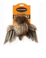 Owl w/ Feathers Premium Cat Toy Realistic Wildlife Featherz