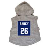 Barky #26 Dog Hoodie Premium Football Sweatshirt