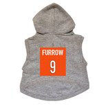 Furrow #9 Dog Cat Hoodie Premium Football Sweatshirt