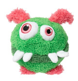Yardsters Peewee Dog Toy Plush Monster Non Toxic Washable Small