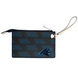 Carolina Panthers Victory Wristlet Vegan Leather Wallet