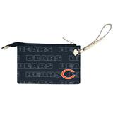 Chicago Bears Victory Wristlet Vegan Leather Wallet
