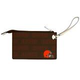 Cleveland Browns Victory Wristlet Vegan Leather Wallet