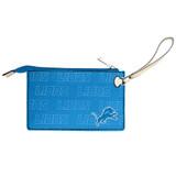Detroit Lions Victory Wristlet Vegan Leather Wallet