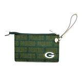 Green Bay Packers Victory Wristlet Vegan Leather Wallet