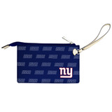 New York Giants Victory Wristlet Vegan Leather Wallet
