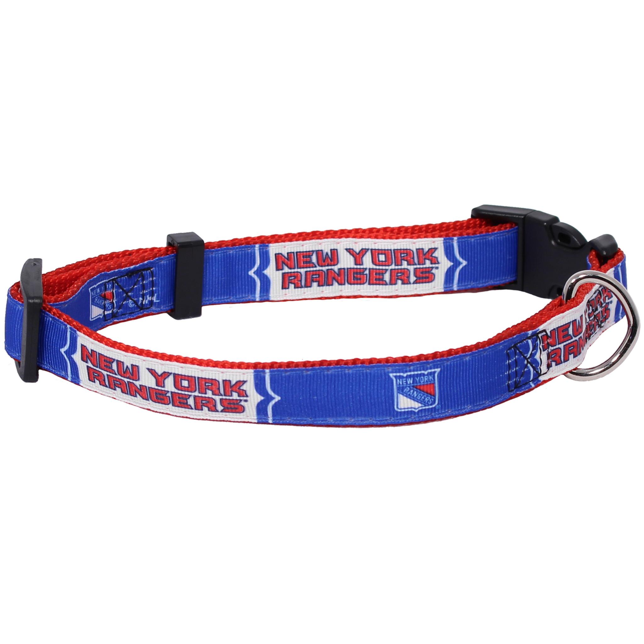 New York Rangers Dog Pet Premium Adjustable Nylon Collar - Spawty c24f97885