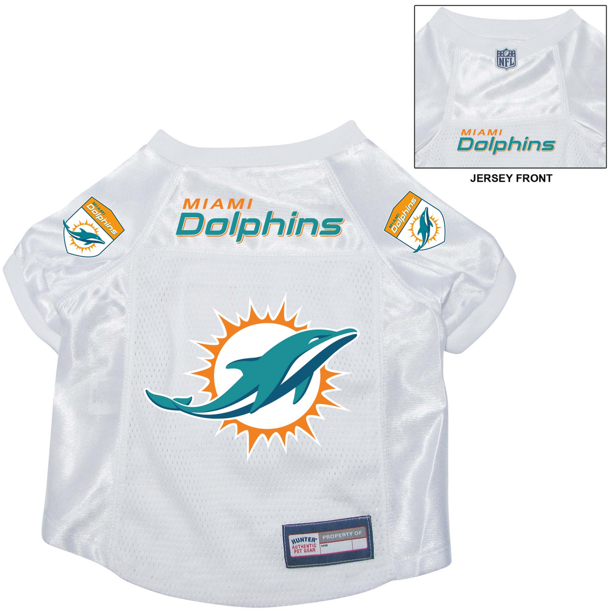 huge discount 2226d 45734 Miami Dolphins Dog Pet Premium Alternate Mesh Football Jersey