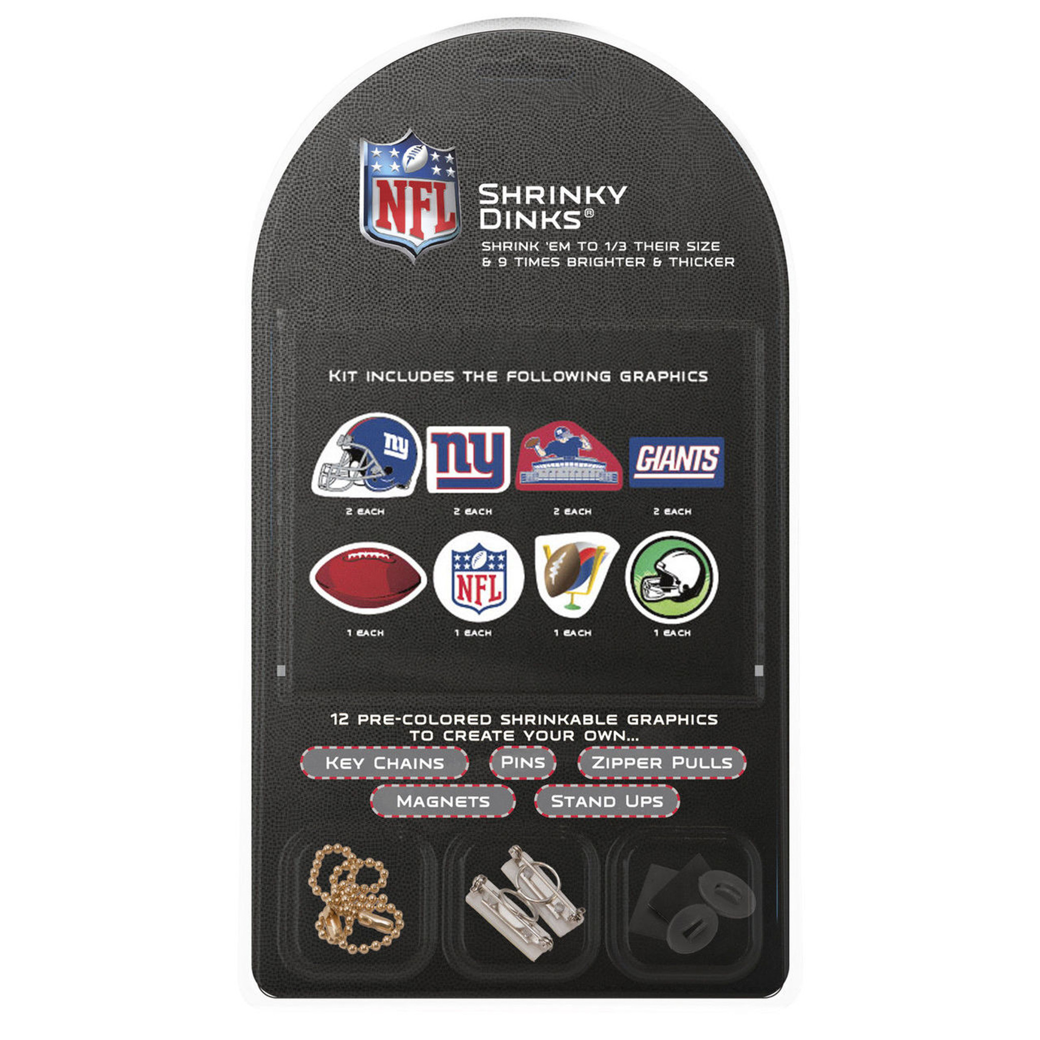 cheap for discount ea277 56cc4 New York Giants Shrinky Dinks Kit