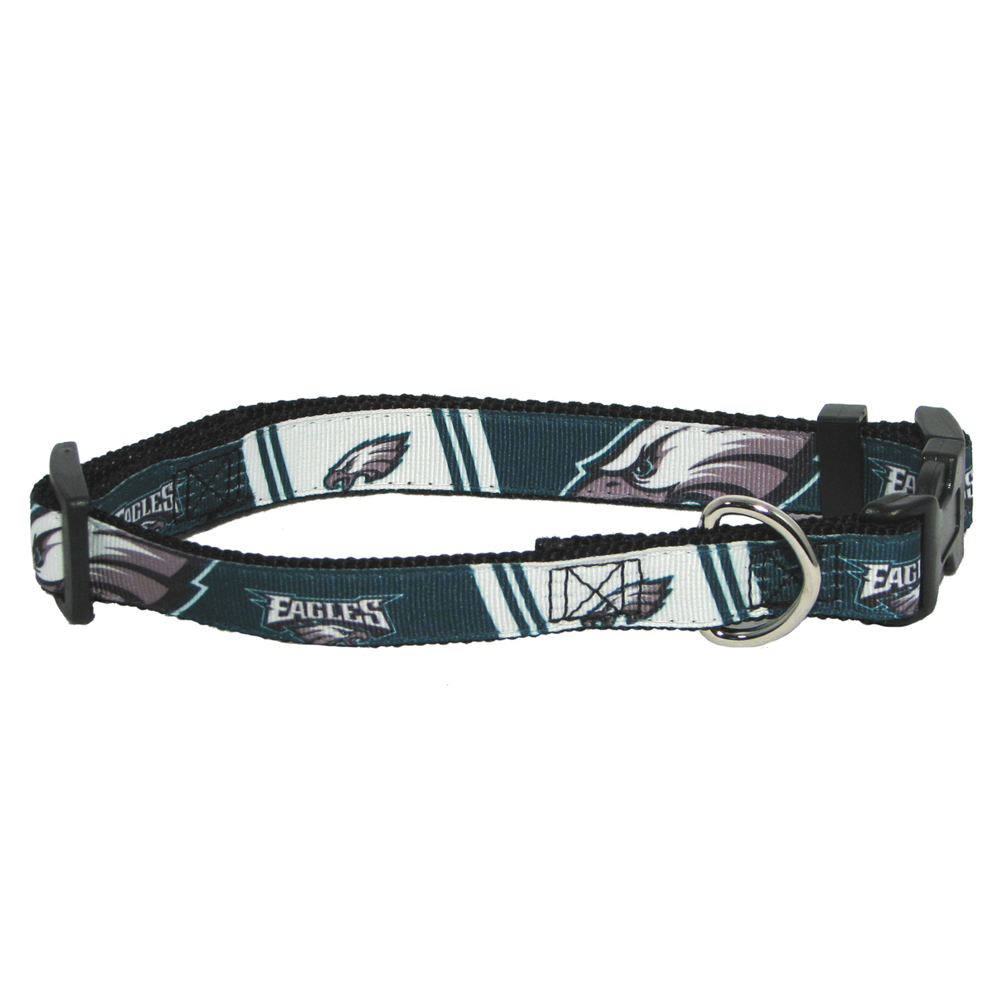 4352b9f63 Philadelphia Eagles Dog Pet Premium Adjustable Nylon Collar - Spawty