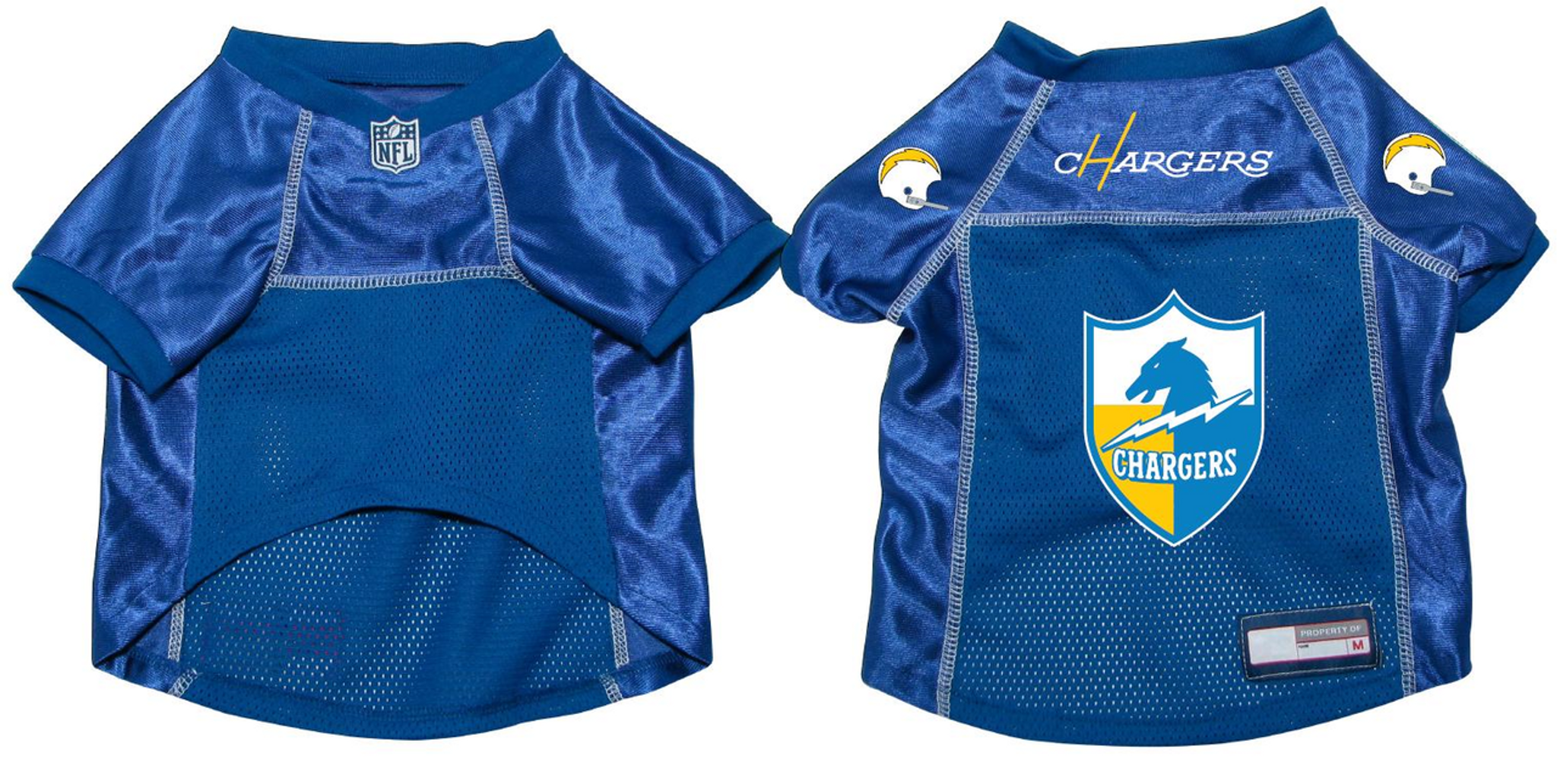 newest 33d79 6e3b1 San Diego Chargers Dog Pet Premium Mesh Football Jersey Throwback