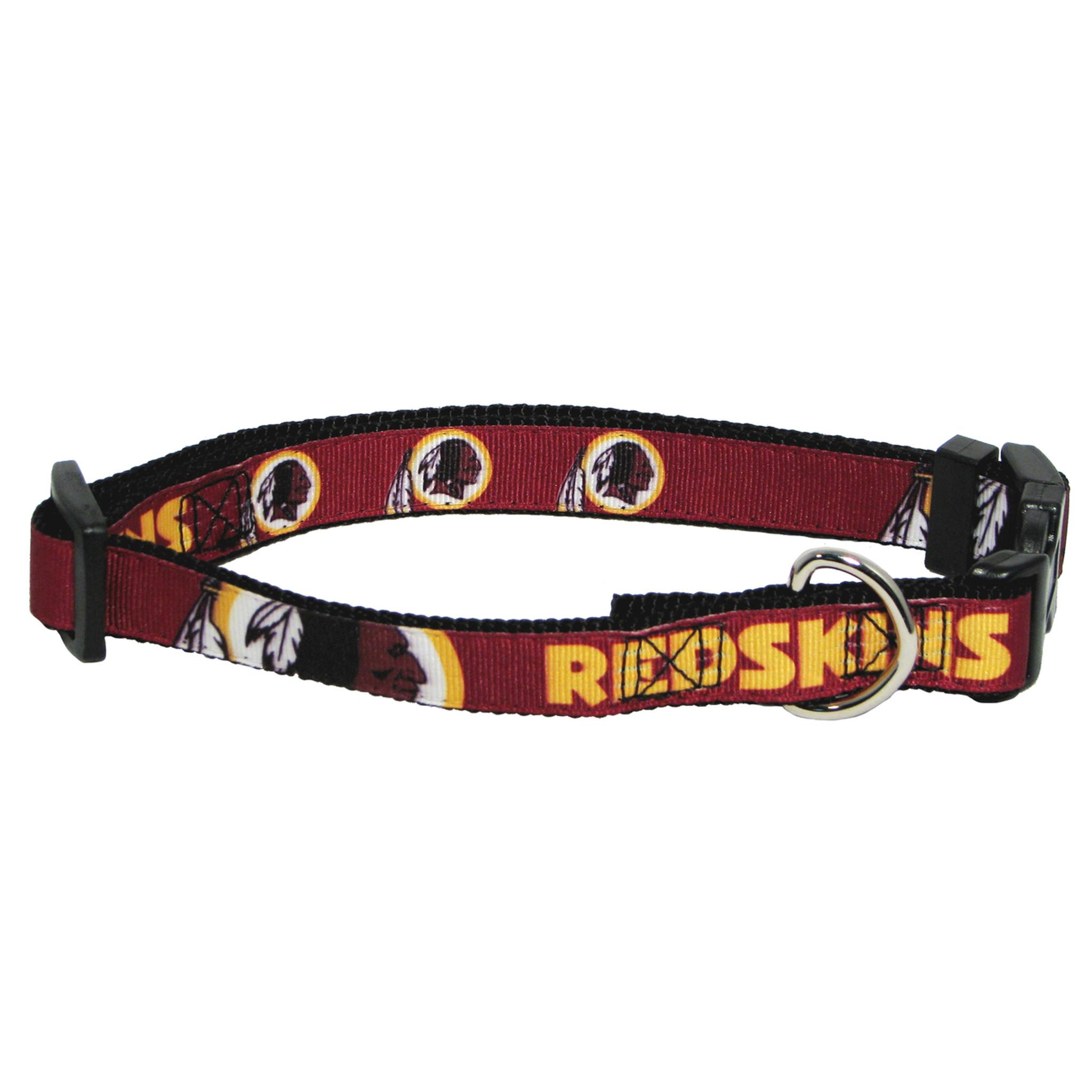 9ba917ac6 Washington Redskins Dog Pet Premium Adjustable Nylon Collar - Spawty