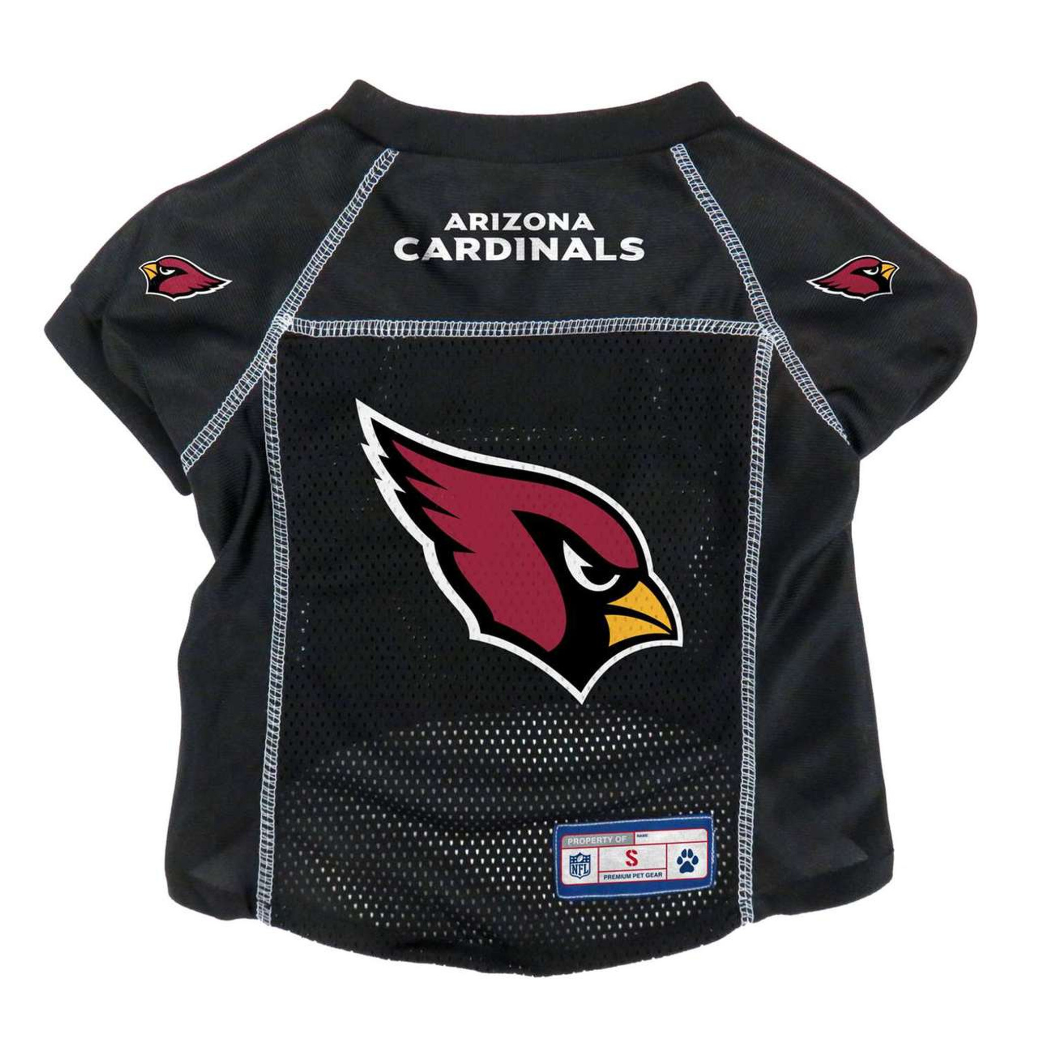 f1ab4355a704 Arizona Cardinals Dog Pet Premium Alternate Mesh Football Jersey LE ...