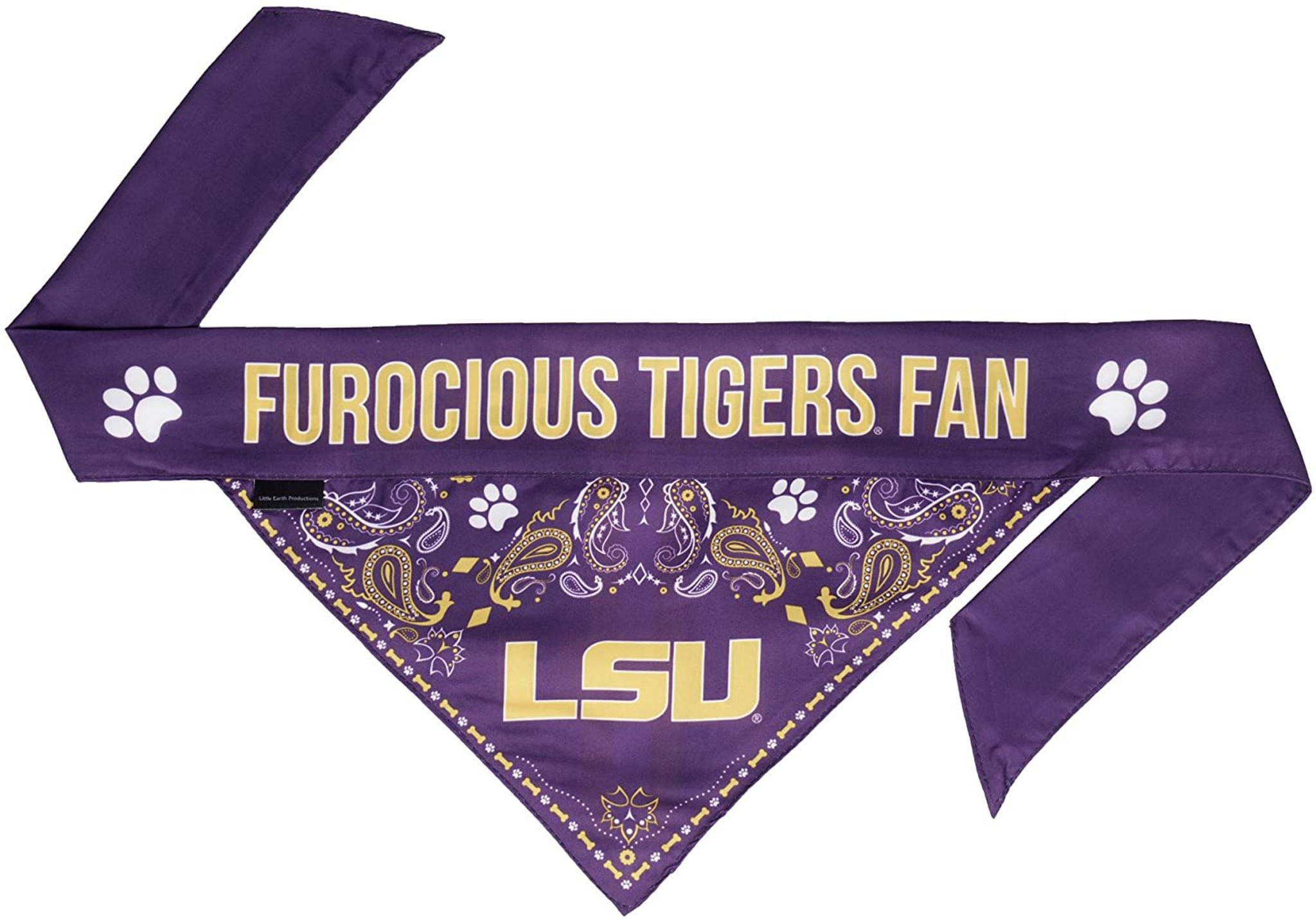 Louisiana Tigers LSU Dog Bandana