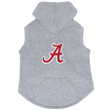Alabama Crimson Tide Dog Pet Premium Button Up Embroidered Hoodie Sweatshirt