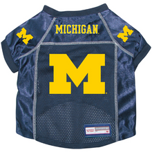 Michigan Wolverines Dog Pet Premium Alternate Mesh Football Jersey