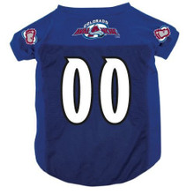 Colorado Avalanche Dog Pet Mesh Alternate Hockey Jersey