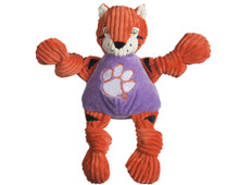 Clemson Tigers Mascot Premium Dog Toy Knotted Plush