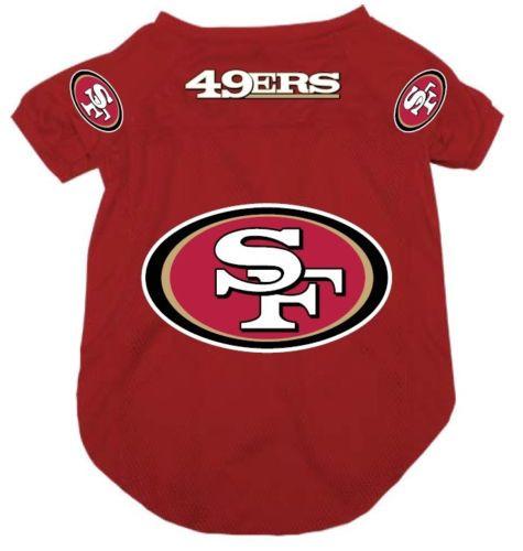 best sneakers 15152 64d4a San Francisco 49ers Dog Pet Mesh Alternate Football Jersey