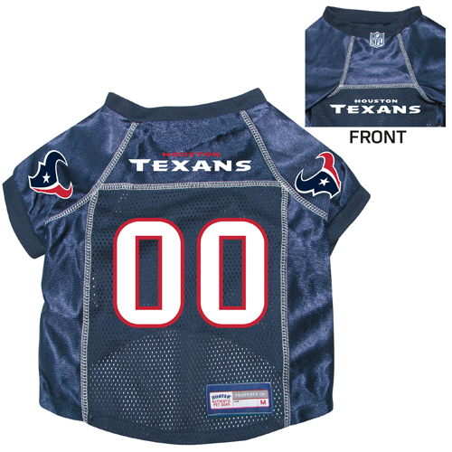 43a1883d2 Houston Texans Dog Pet Premium Mesh Football Jersey - Spawty
