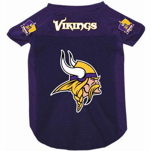 huge discount 7f759 86901 Minnesota Vikings Dog Pet Mesh Alternate Football Jersey