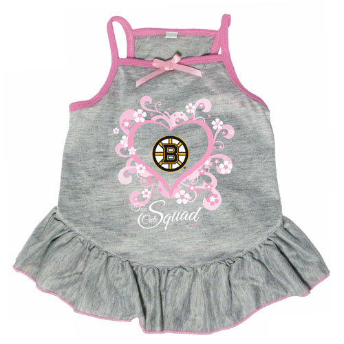 super popular cce7c a6f20 Boston Bruins Dog Pet Pink Too Cute Squad Jersey Tee Dress