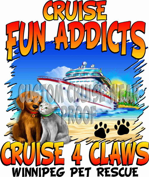 Cruise Fun Addicts Cruise For Claws