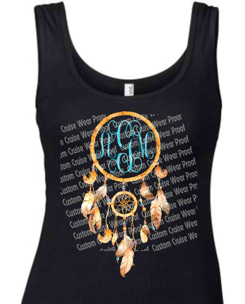 Dream Catcher Initial Shirt