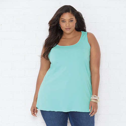 Woman's TANK TOP Curvy Collection