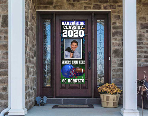 Class Of  2021 Front Door Banner - FOOTBALL