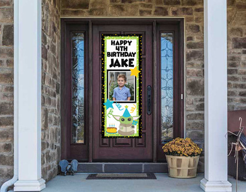 Front Door Banner - Birthday Character or Graphic