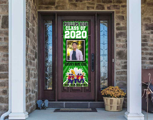 Class Of  2020 Front Door Banner - BAND