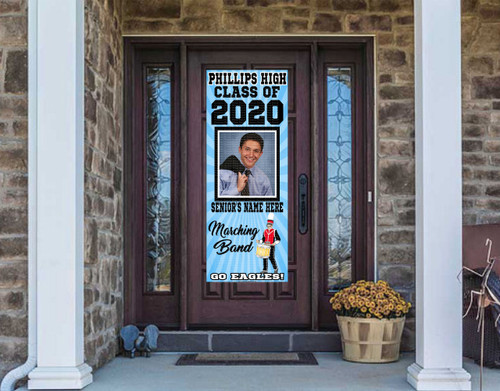 Class Of  2020 Front Door Banner - DRUM