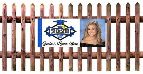Class Of  2020 Fence and Wall Banner - Horizontal Photo