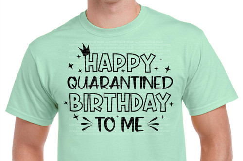 Happy Quarantined Birthday To Me