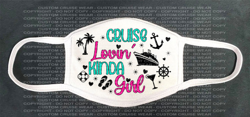 Fashion Facial Cover - Cruise Lovin' Kinda Girl