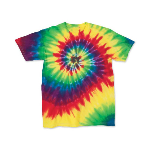 Youth Tie Dye Basic Tee Classic Color