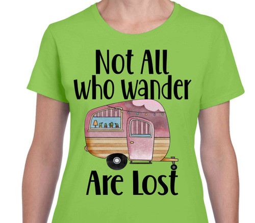 Not All Who Wander Camper