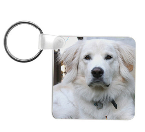Key Chain with Photo - 2 Sided