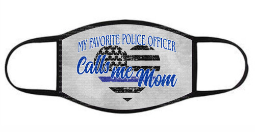 Fashion Facial Cover - My Favorite Police Officer Calls Me