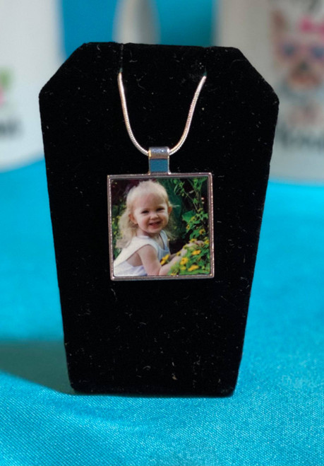 Photo Pendant with FREE Chain
