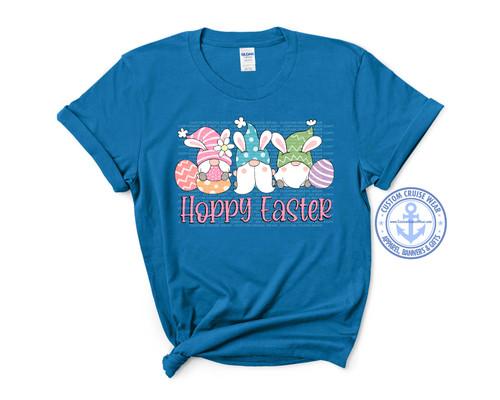 Easter Shirt Design - Hoppy Easter Gnomes