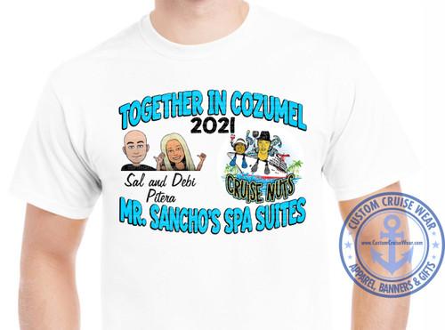 Mike Rebustillo Together in Cozumel