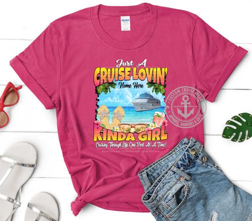 Cruise Lovin Kinda Girl Flip Flops on Beach