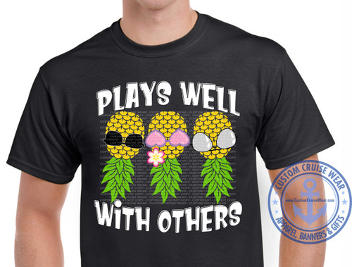 Plays Well With Others Pineapple